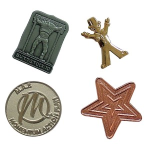 30mm Metal Relief Badge
