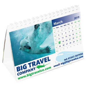 Medium Easel Calendar
