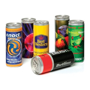 250ml Energy Drink Can