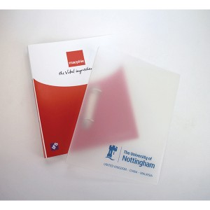 A4 Polyprop Ring Binder - 1 Colour