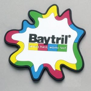 Soft PVC 2D Coaster