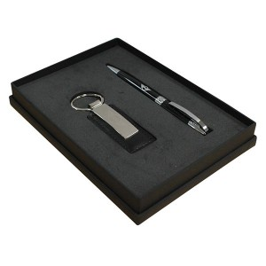 Ballpen and Key Ring Trafalger Gift Set