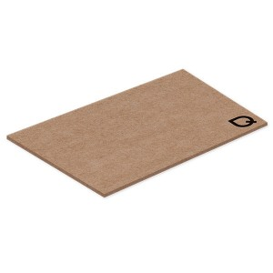 NoteStix Kraft Recycled Adhesive Pad 105 x 75mm - 1 Colour