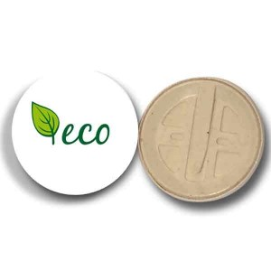 Compostable Badges - Full Colour