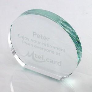12.5cm Freestanding Circle Award