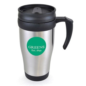 Stainless Steel Travel Mug 400ml
