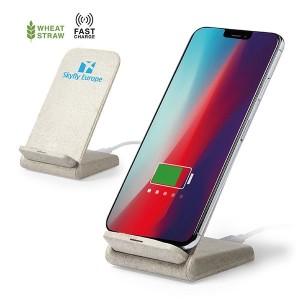 Natureline WheatStraw Wireless Phone Stand