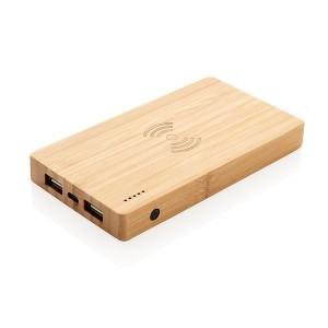 XD-Design Bamboo 4000mAh Wireless Powerbank