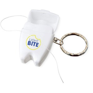 Dental Floss Key Ring