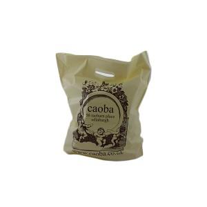 200g Sugar Cane Green/Polyethylene Carrier Bag - Full Colour
