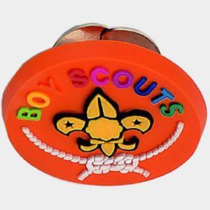 Moulded Soft PVC Lapel Badge