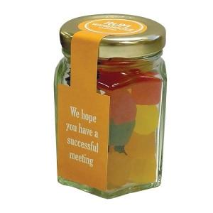 Hexagonal Sweet Jar