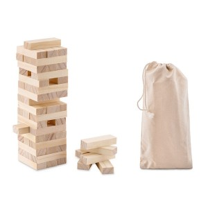 Wooden Toppling Tower