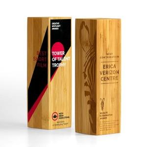 Solid Moso Bamboo Column Award