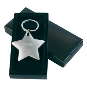 Star Shaped Key Ring