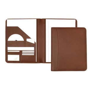 Melbourne Nappa Leather Conference Folder