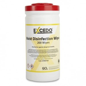 Excedo Disinfection Wipes (70% Isopropyl Alcohol)