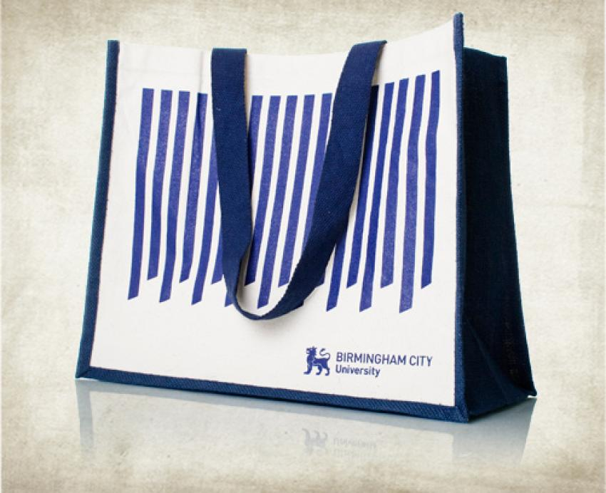 Jute Classic Shopper Tote Bag