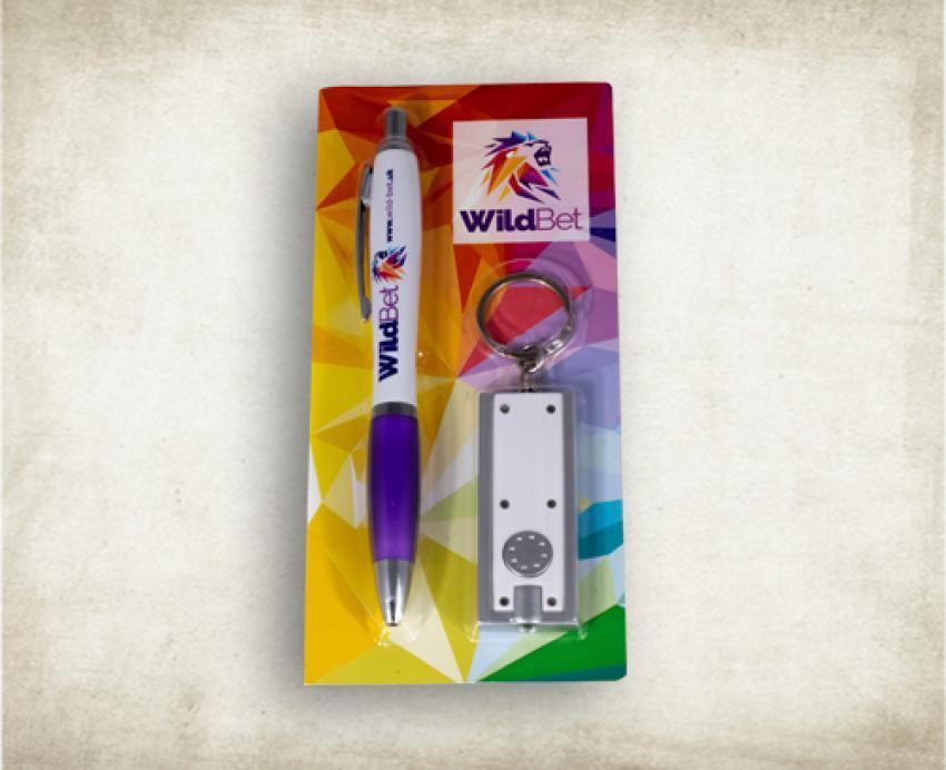 Pen & Keyring Set